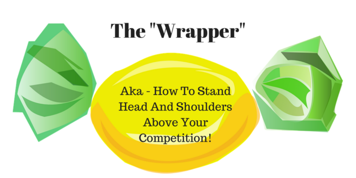 "How to stand ""Head and Shoulders"" above your competition."