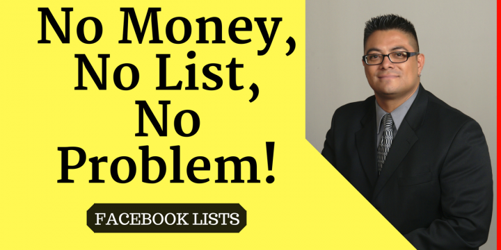 No money, No List, No Problem!