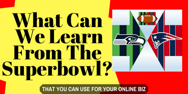 What Can We Learn From The Superbowl?